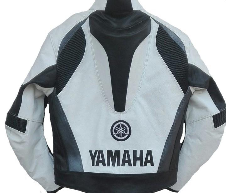 Yamaha Motorcycle Racing Leather Jacket