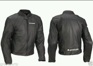 Kawasaki Biker Leather Jacket BMJ 2631