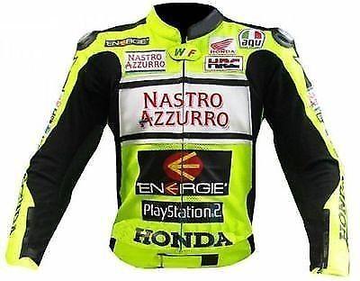 HONDA Motorbike Sport Leather Jacket