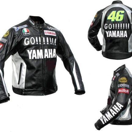 Yamaha Motorbike Leather Jacket BMJ2857