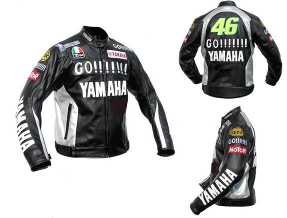 Yamaha Motorbike Leather Jacket BMJ2857