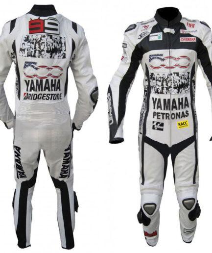 YAMAHA Motorcycle Men Leather Suit BSM 2909