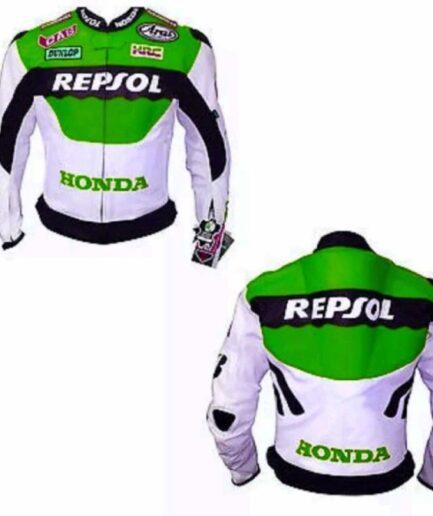 HONDA Repsol Motorbike Leather Jacket BMJ2952