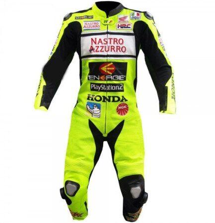 HONDA Motorcycle Racing Leather Suit BSM 2973
