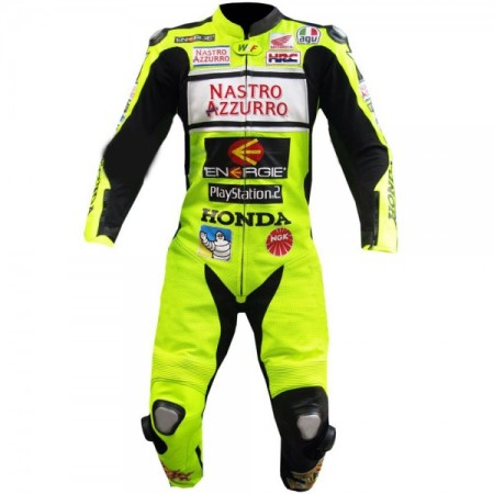 HONDA Motorcycle Racing Leather Suit BSM 2973