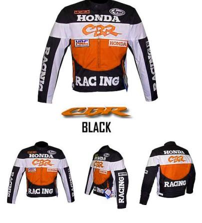 HONDA CBR Motorbike Leather Jacket BMJ2957