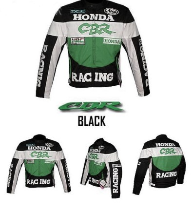 HONDA CBR Motorcycle Racing Leather Jacket BMJ2958