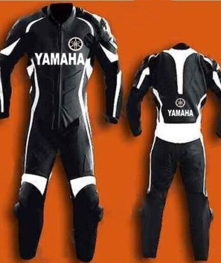 YAMAHA Motorbike Branded Leather Suit