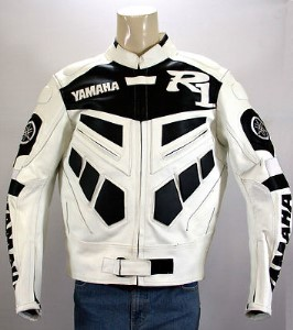 Yamaha R1 Motorcycle Racing Leather Jacket