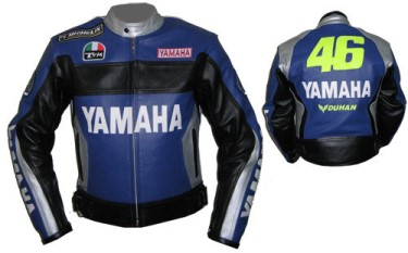 Yamaha Motorcyle Leather Jacket BMJ2859
