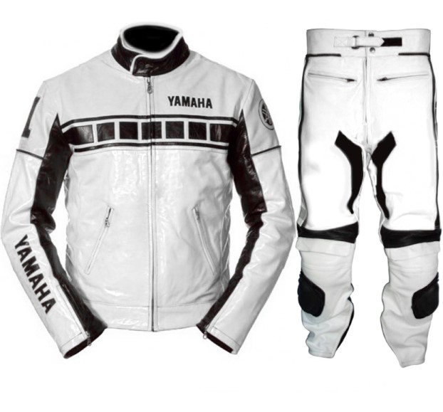 YAMAHA Motorbike Raceing Leather Suit BSM 2916