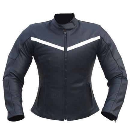 Sportiva Ladies Motorbike Leather Jacket