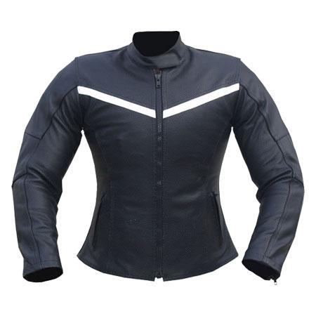 Airwoman Ladies Motorbike Leather Jacket