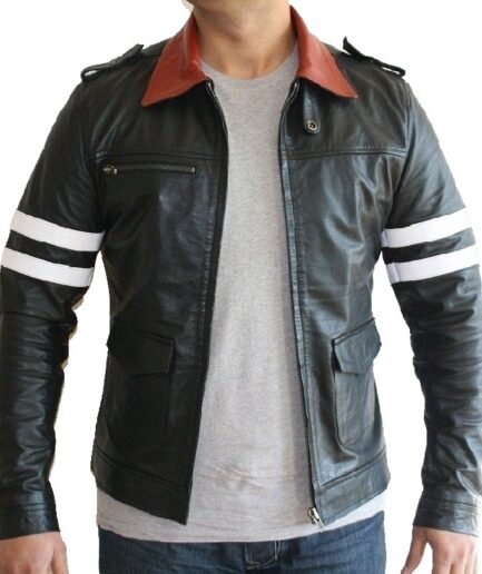Alex Mercer Motorbike Leather Jacket
