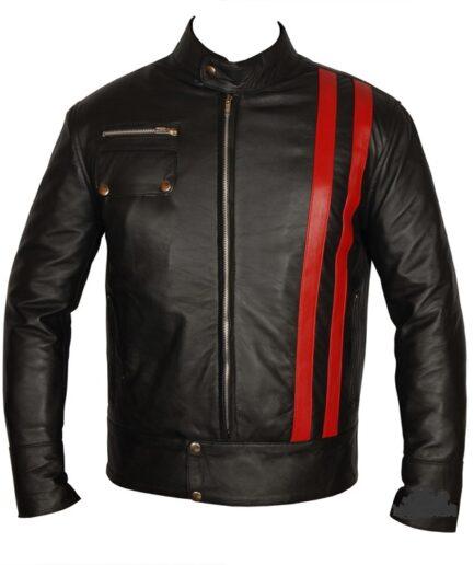 Avenue Motorbike Leather Jacket