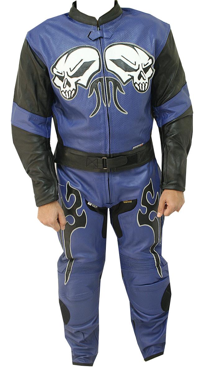 Blue Moon Motorbike Leather Suit
