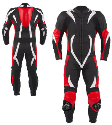 Calfornia Motorbike Racing Leather Suit