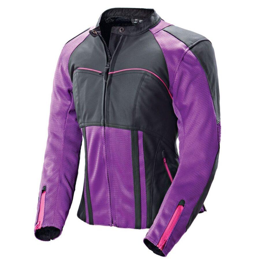Crawford Ladies Motorbike Leather Jacket