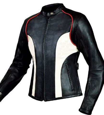 Elizabeth Ladies Motorbike Leather Jacket