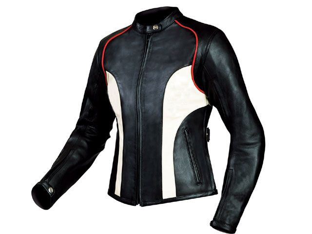 Elizabeth Ladies Motorbike Leather Jacket