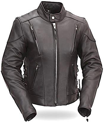 Fitzberg Ladies Motorbike Leather Jacket