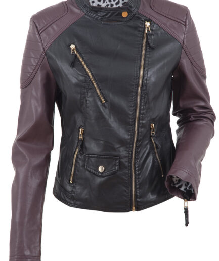 Florence Ladies Motorbike Leather Jacket