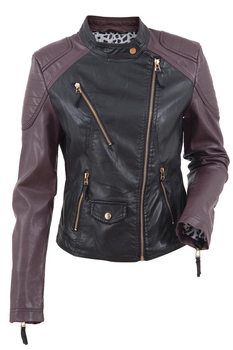 Florence Ladies Motorbike Leather Jacket