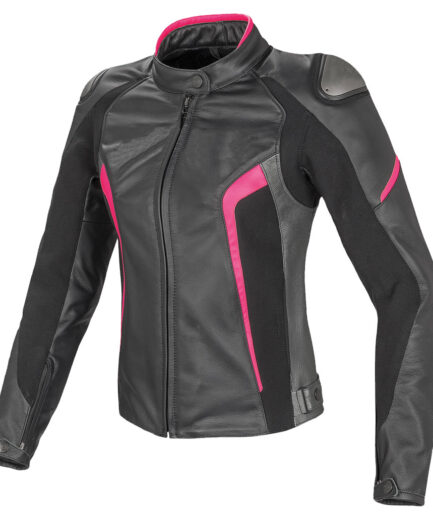 Glasgow Ladies Motorbike Leather Jacket