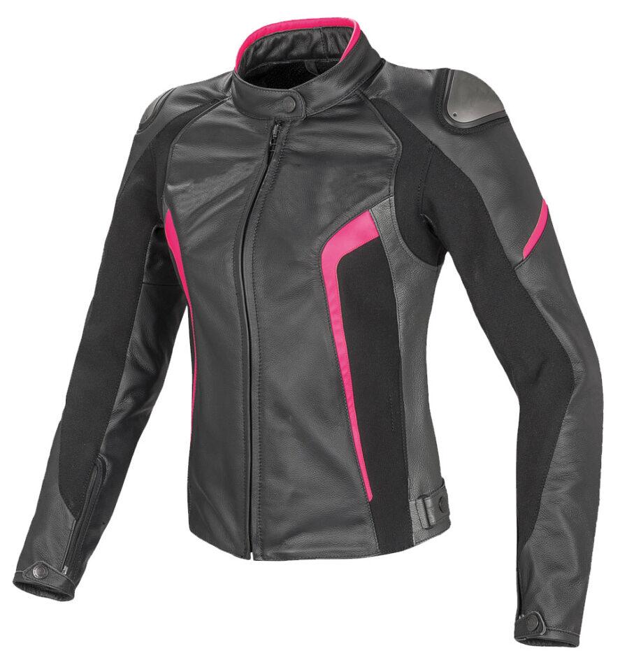 Glasgow Ladies Motorbike Leather Jacket