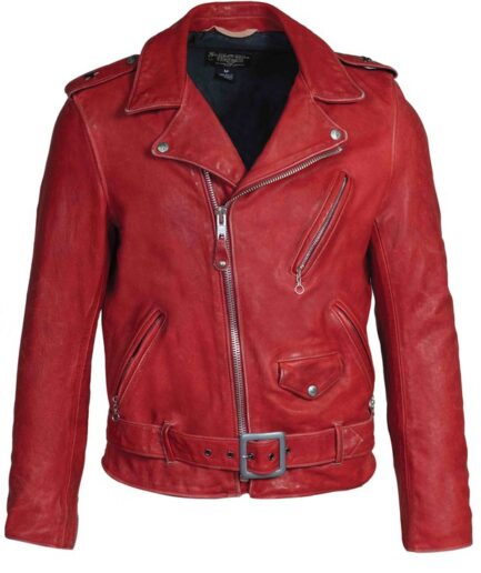 Hand Vintaged Cowhide Perfecto Jacket