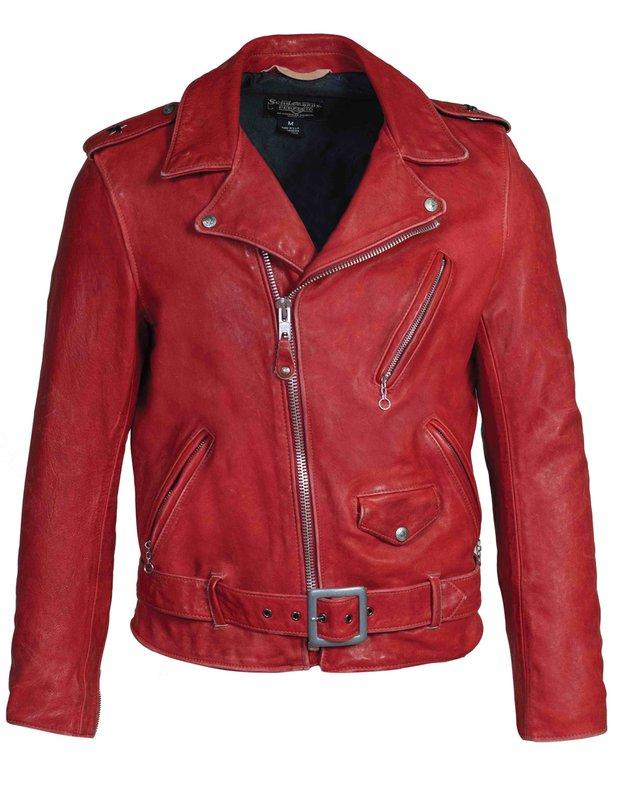 Hand Vintaged Cowhide Perfecto Jacket