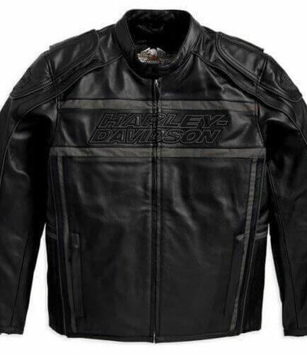 Harley Davidson Men's Luminator 360 Black Leather Jacket