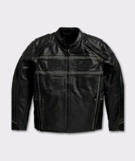 Harley Davidson Men's Distinction Luminator black leather jacket