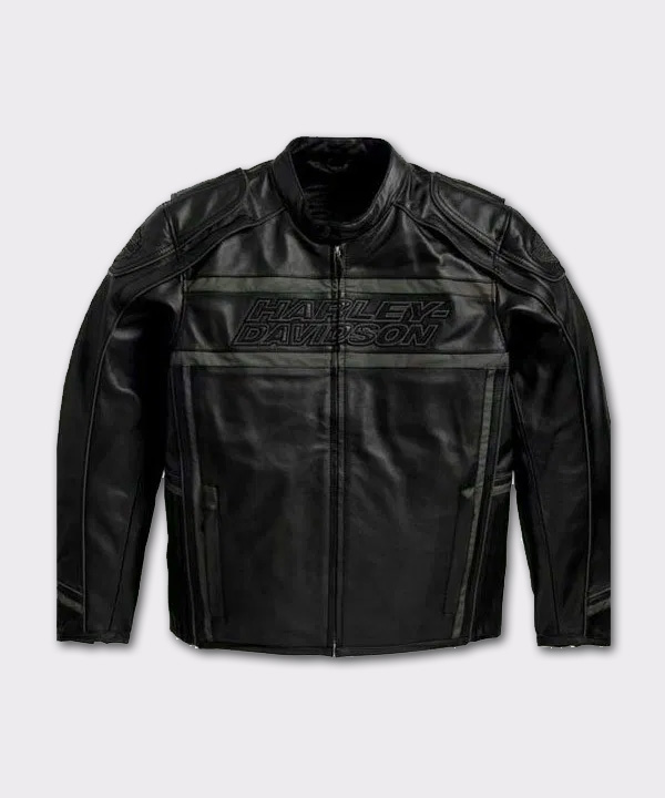 Harley Davidson Men's Distinction Luminator black leather jacket