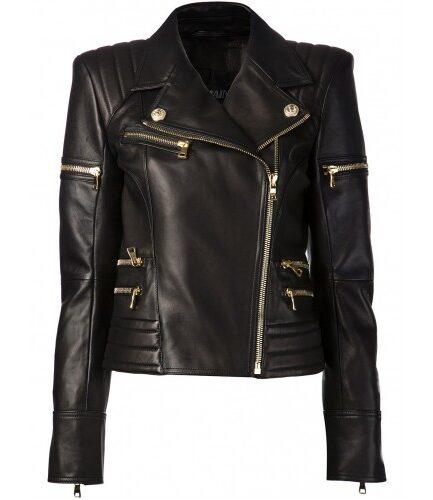 Hiromi Ladies Motorbike/Motorcycle Leather Jacket
