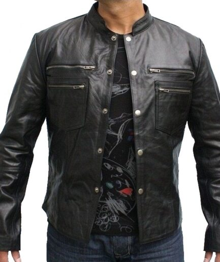 Hunter Motorbike Leather Jacket