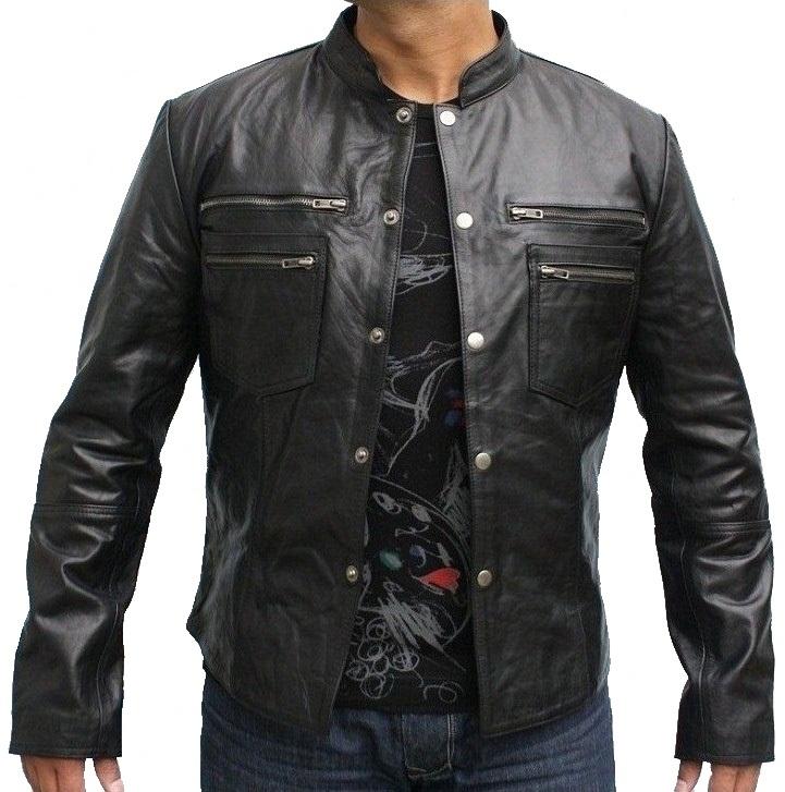 Hunter Motorbike Leather Jacket