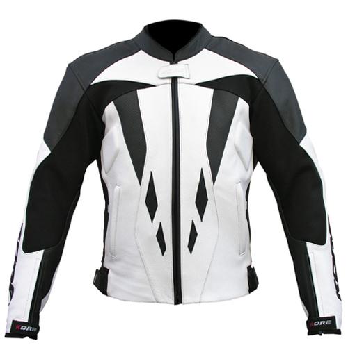 Women Motorcycle Racing Leather Jacket
