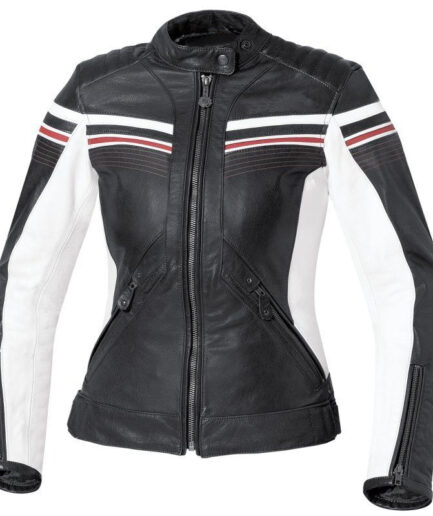 Leipzig Ladies Motorbike Leather Jacket