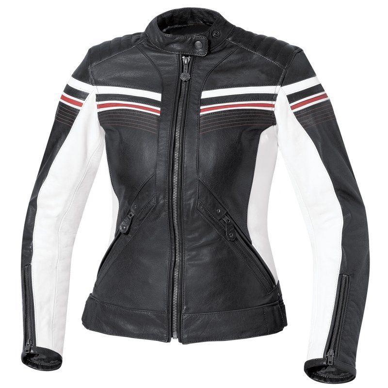 Leipzig Ladies Motorbike Leather Jacket