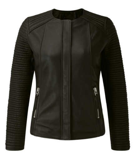 Lina Ladies Motorbike Leather Jacket