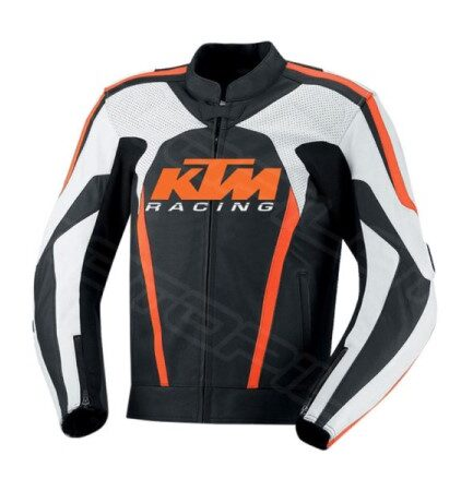 MOTORCYCLE LEATHER JACKET MLJ-080-KTM