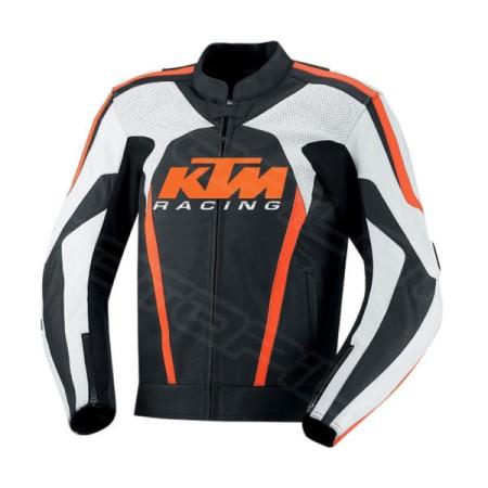 MOTORCYCLE LEATHER JACKET MLJ-080-KTM
