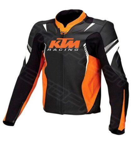MOTORCYCLE LEATHER JACKET MLJ-083-KTM