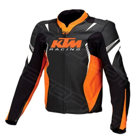MOTORCYCLE LEATHER JACKET MLJ-083-KTM