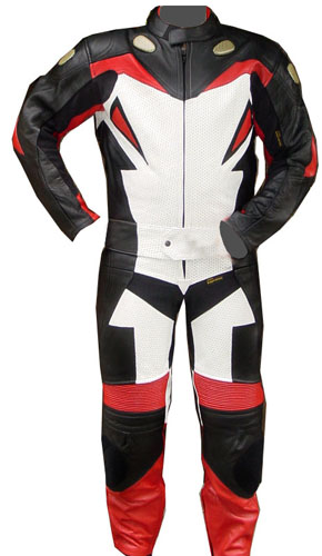 Madrid Motorbike Leather Suit