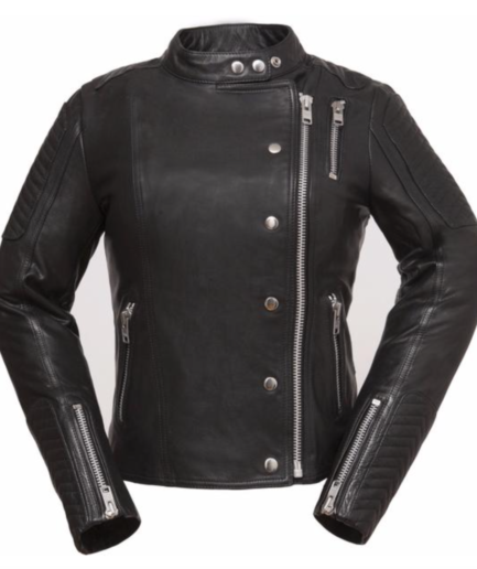 Makeatutara Ladies Motorbike Leather Jacket