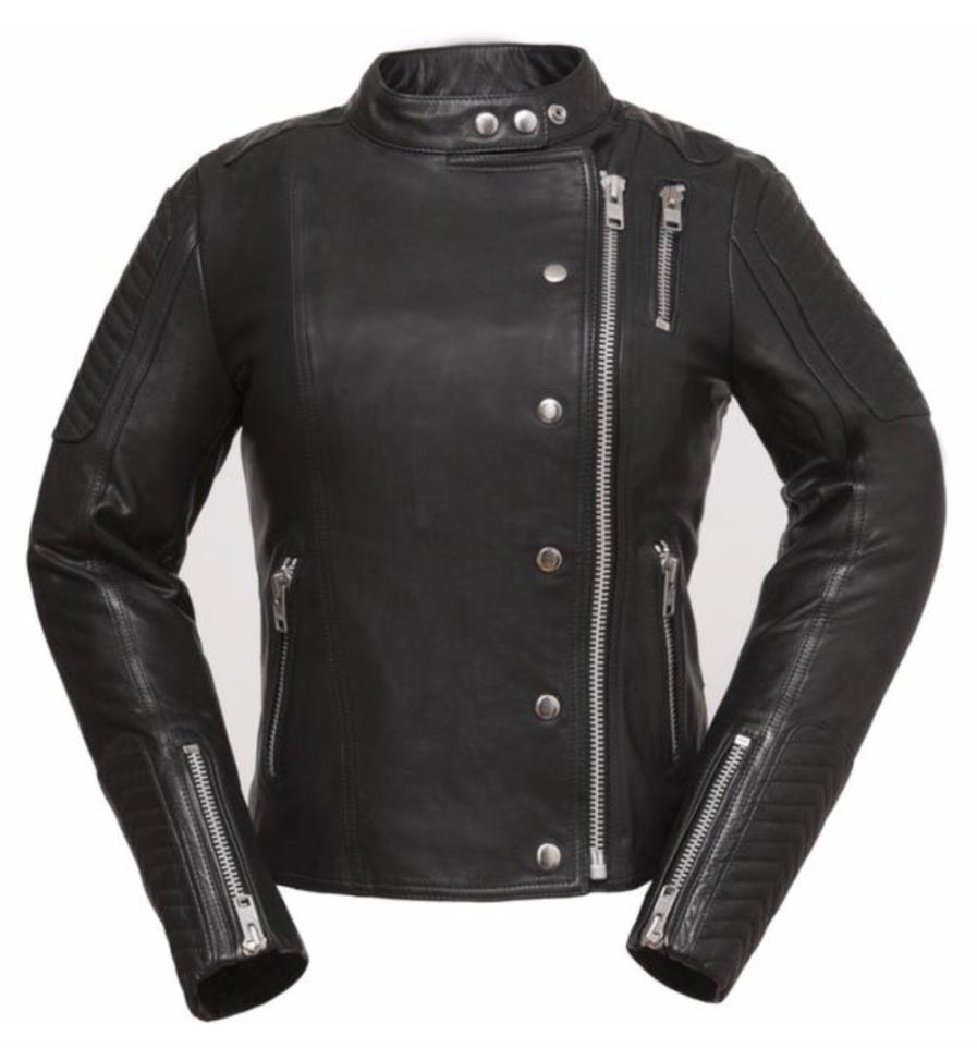 Makeatutara Ladies Motorbike Leather Jacket