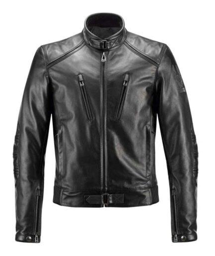 Marco Polo Motorbike Leather Jacket