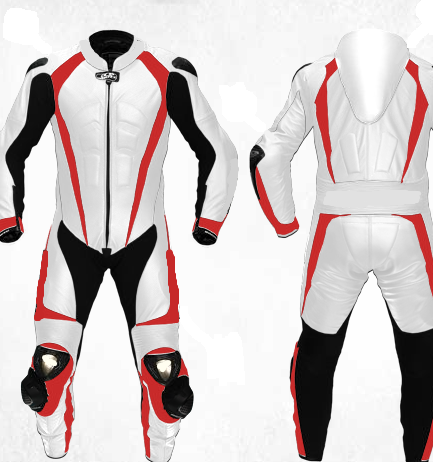 Men's Motorbike Leather Suit